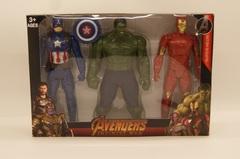 Набор Мстители Avengers 3в1, 3899-7