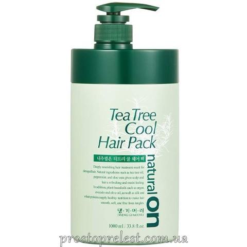 Daeng Gi Meo Ri Naturalon Tea Tree Cool Hair Pack - Натуральна освіжаюча маска на основі чайного дерева