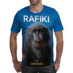Футболка 3D принт, Король Лев (3Д The Lion King) Рафики / Rafiki