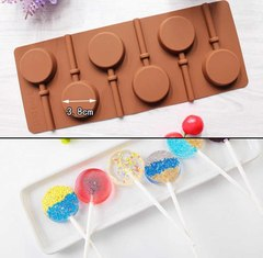 Силиконовая Форма для конфет и леденцов d=3.8 см