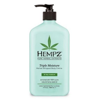 Hempz - Уход для тела: Молочко для тела - Тройное увлажнение (Herbal Body Triple Moisture), 500мл