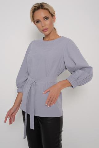 <p>Модная туника выполненая из люксовой ткани-велюровый деним. Свободный силуэт, рукав пышный 3/4 на широкой резинке, пояс.&nbsp;</p>