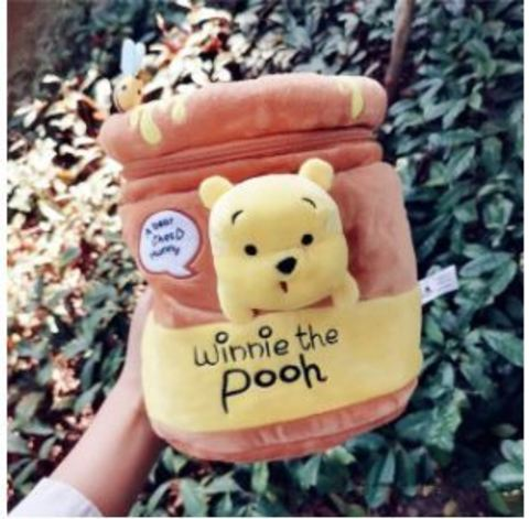 Винни Пух рюкзак бочонок мёда
