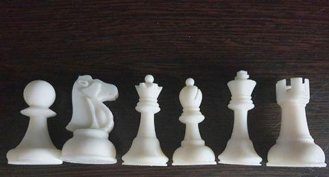 Силиконовые молды Шахматы  Классика дизайнерские . набор 6 шт