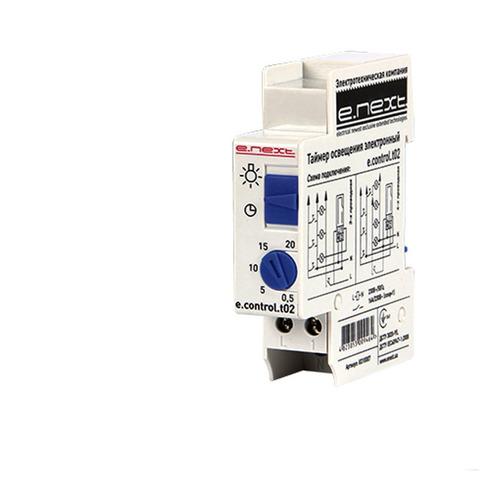 Таймер освещения электронный Enext t02