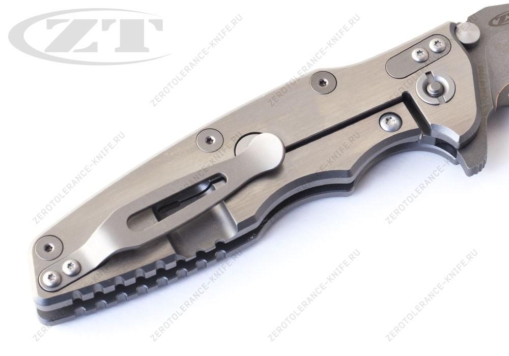 Нож Zero Tolerance SO100AN Snap-on Hinderer - фотография