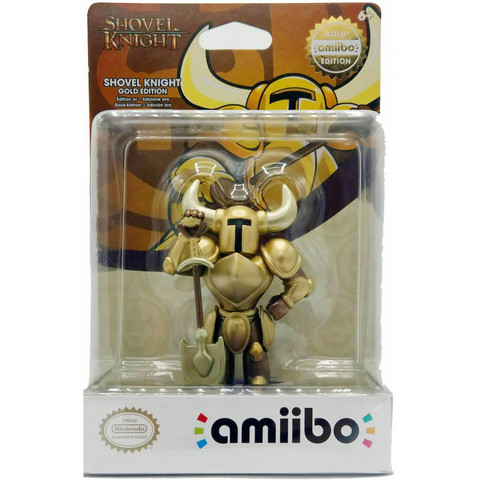 Фигурка Amiibo: Shovel Knight: Golden Knight || Лопатный-Рыцарь (Золотой)
