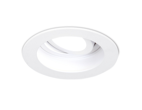 Встраиваемый поворотный точечный светильник TN175 WH белый GU5.3 D100*40