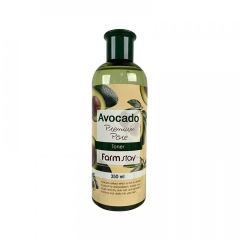 Тонер антивозрастной сэкстрактом авокадо FarmStay Avocado Premium Pore Toner 350ml