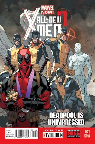 All-New X-Men #1 (Deadpool Cover)