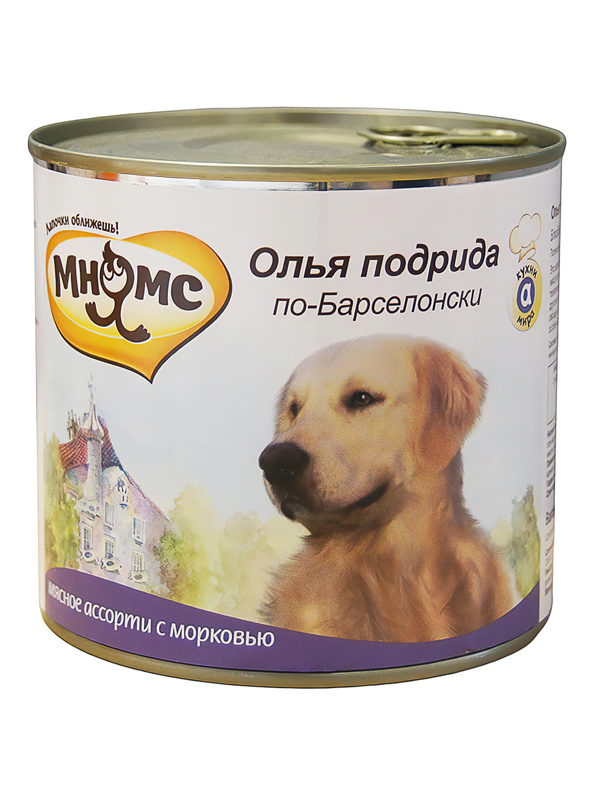 Мнямс Консервы для собак Мнямс Олья Подрида по-Барселонски (мясное ассорти с морковью) 57620_1.jpg
