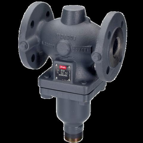Клапан регулирующий чугун VFG2 Danfoss 065B2390 универсальный Ду 25 Ру16 Kvs=8 150С фланц