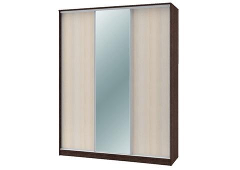 Шкаф-купе «ТЕХНО» 3-х дверный с одним зеркалом
