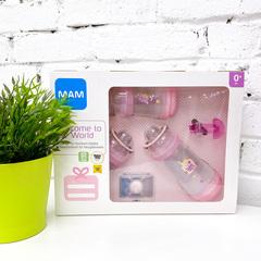 Подарочный набор МАМ (MAM), розовый