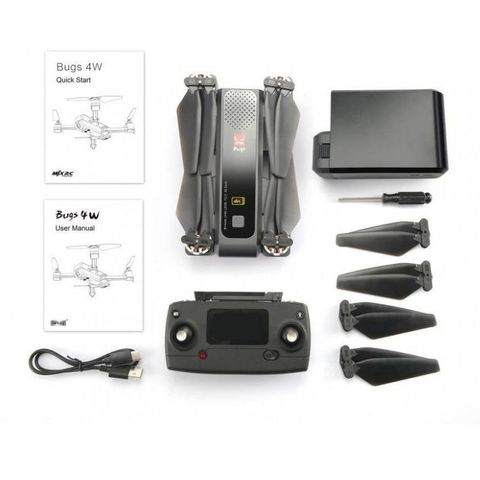 Квадрокоптер MJX Bugs 4W с камерой 4K в сумке - MJX-B4W-4K-BAG