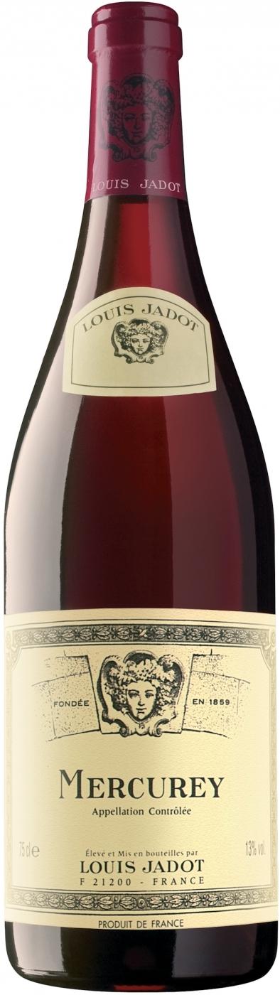 Вино Луи Жадо Меркюри красное сухое 0,75л