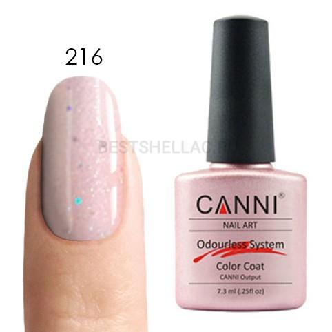 Canni Canni, Гель-лак № 216, 7,3 мл 216.jpg