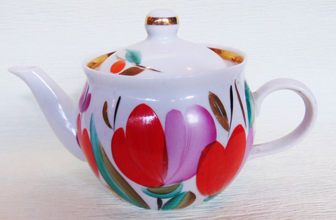 Комплект чайник и молочник Павлова Л.Н.