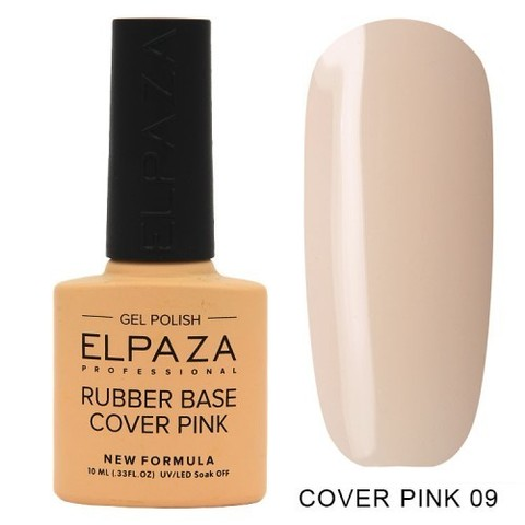 Elpaza Rubber Base Cover Pink, 09