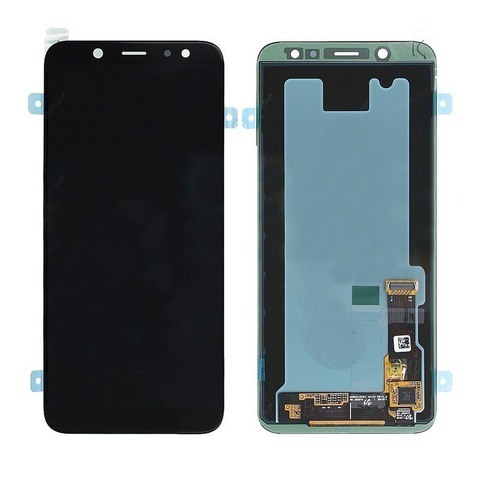 LCD SAMSUNG A6 2018 A600F + Touch Black OLED MOQ:5