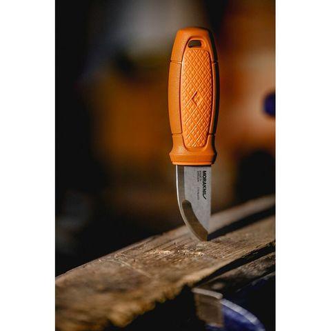 Нож перочинный Morakniv Eldris (13499) 143мм оранжевый/красный