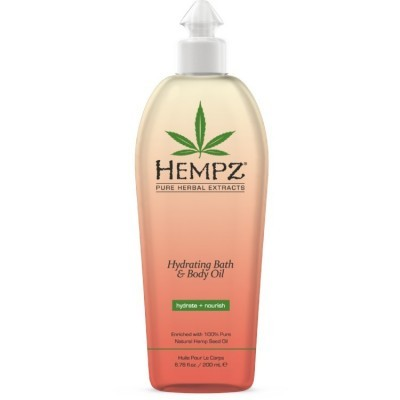 Hempz - Уход для тела: Масло увлажняющее для тела и ванны (Hydrating Bath & Body Oil), 200мл