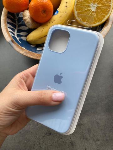 Чехол iPhone 12 (6,1) Silicone Case Full /lilac cream/