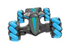 Детская машинка управление жестами синяя