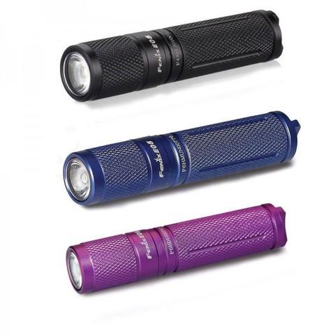 Карманный фонарь Fenix E05 (2014 Edition) Cree XP-E2 R3 LED (черный, фиолетовый, синий)