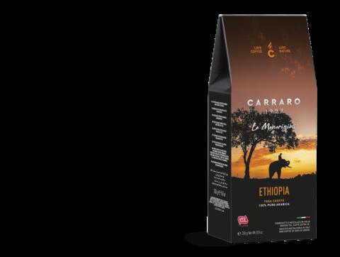 Carraro Ethiopia моносорт (Карраро Эфиопия) 250 г. молотый кофе