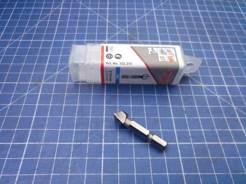 Зенковка-бита 90° 10,4мм 3z L34мм HSS-G Ruko 102315