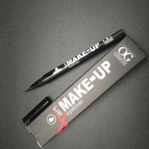 OG-E3522С Подводка-фломастер для век профессиональная ,черная Art Make-UpEyeliner