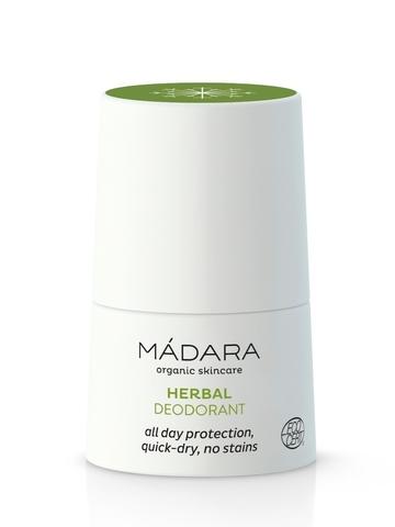 MADARA Органический растительно-минеральный дезодорант, не содержит алюминий 50 мл