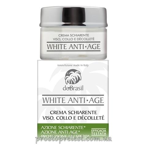 Dobrasil white anti-age crema schiarente viso, collo e decollete'-Осветляющий крем от морщин для лица,шеи и зоны декольте
