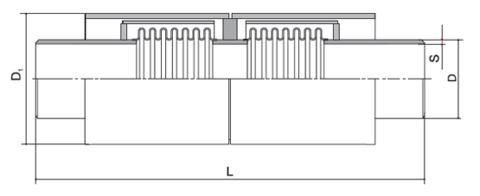 Компенсаторы сильфонные осевые