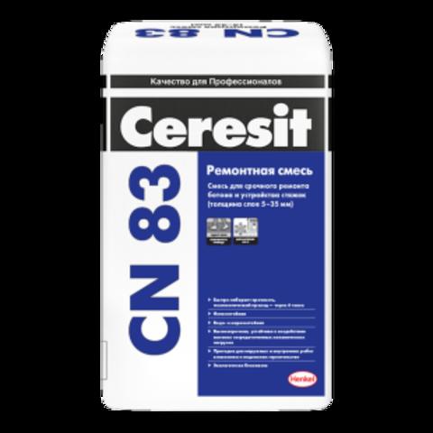 Ремонтно-восстановительная смесь Церезит CD 83 25 кг