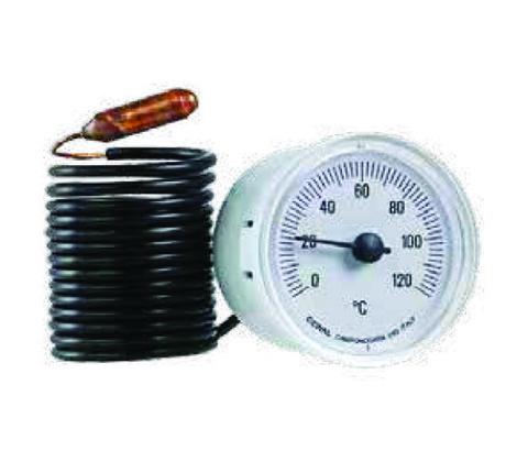 Термометр капиллярный CEWAL d 52 мм код 31100019