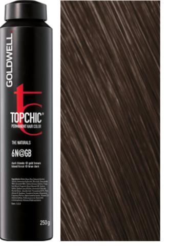 Topchic 6N@GB - темный блонд с золотисто-бежевым сиянием (золотая кора) TC 250ml