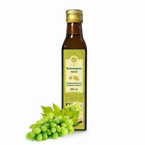 Масло виноградное нерафинированное