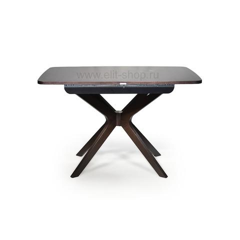 Стол СИЛЬВЕР 120/80-ОВ Венге прямоугольный / 120(168)х80см