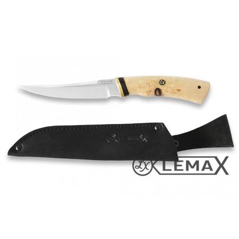 Нож Рыбак-2, Х12МФ, карельская берёза