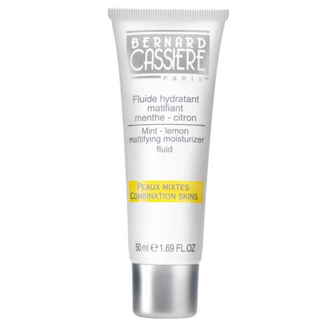 BERNARD CASSIERE линия  Лимон - Мята: Увлажняющий флюид для лица с матирующим эффектом мята-лимон, 50мл