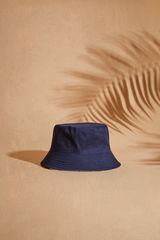 Двосторонній капелюх з морським принтом