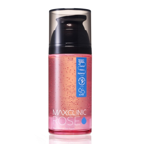 Maxclinic Rose Vitamin oil foam