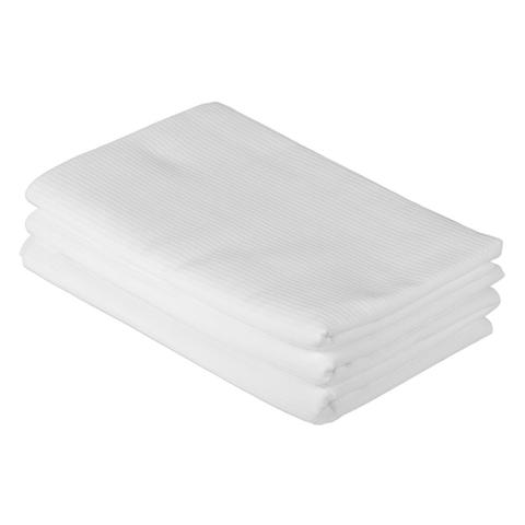 Простыня для бани и сауны вафельная белая