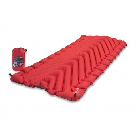 Надувной коврик Klymit Insulated Static V Luxe, красный