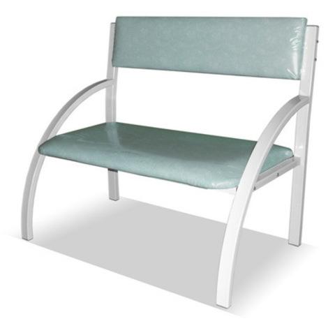 Банкетка со спинкой - кресло 1-местная - фото