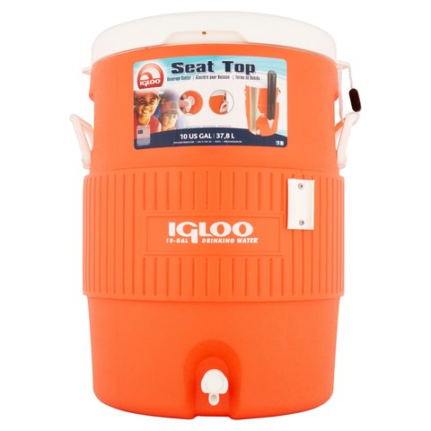 Изотермический контейнер (термобокс) Igloo 10 Gal (термоконтейнер, 37,5 л.)
