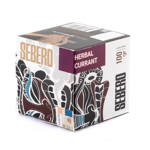 Табак Sebero Herbal Currant (Ревень-Смородина) 100 г