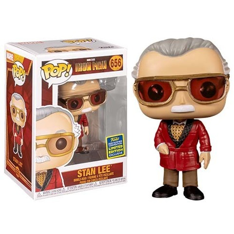 Funko POP! SDCC 2020: Iron Man Stan Lee || Стэн Ли (Exc)